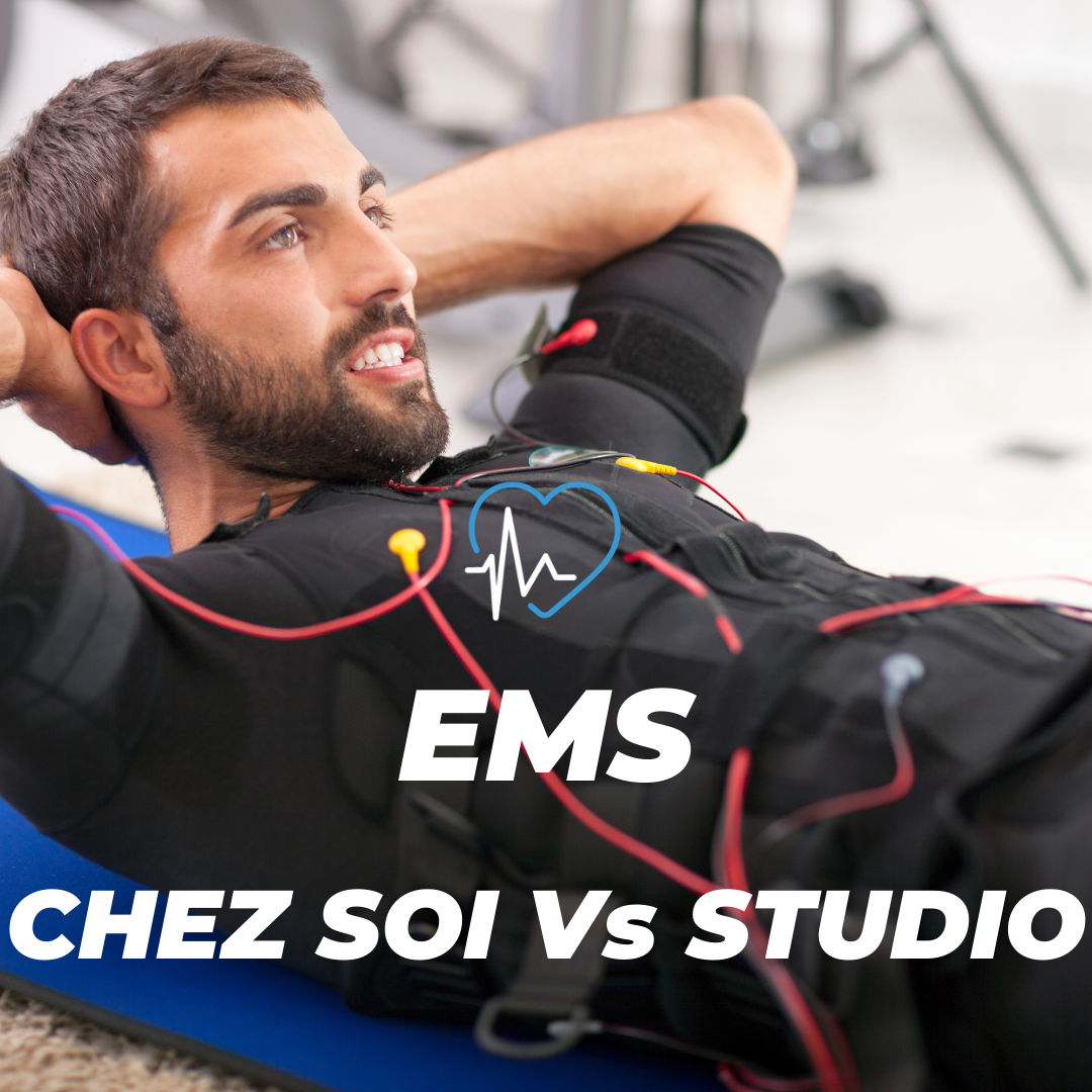EMS STUDIO PULSE ELCTROMYOSTIMULATION COACH SPORT