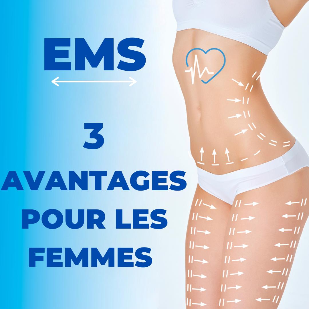 EMS CELLULITE MASSE MUSCULAIRE POUR LES FEMMES